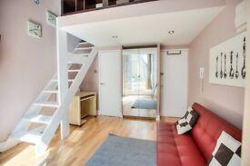 Stunning split level flat forLong or Short let,min to tube, Notting Hill, Hyde Park, Bills incl, now