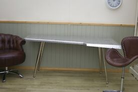 Stunning Aviator Wing Desk and Chair