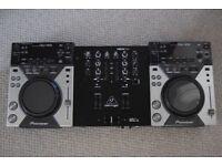 Pioneer CDJ 400's & Behringer NOX101 Mixer