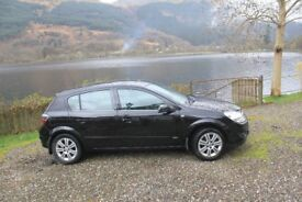 57 Plate Vauxhall Astra Design 1,8 Automatic
