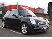 2002 MINI ONE HATCH, 4 OWNER, 3 MONTHS WARRANTY. 1 YEAR MOT. GREAT RUNNER, PX WELCOME