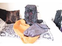 60L (+10) backpack for hiking, backpacking, camping