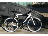 Brand New aluminium 21 speed hybrid road bike ( 1 year warranty + 1 year free service ) rrx
