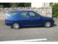 Peugeot 306 1.6 Estate car, 2002. Mot April, Part Ex and Card payment available.