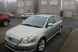 Toyota Avensis Diesel Hatchback. Recently serviced with new front and rear brakes and tyres