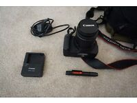 Canon EOS 600D Camera including 18-55mm Lens, Bag and accessories £250 (RRP £550)