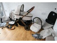 Babystyle Oyster 2 Special Edition City Bronze pram complete travel system 3in1 CAN POST