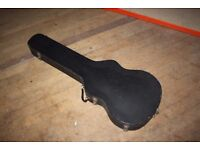 1960s Victoria Luggage Dreadnought Acoustic Guitar Hard Case