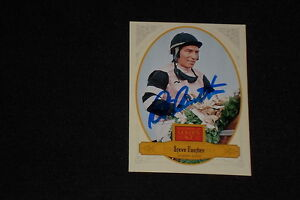 STEVE CAUTHEN 2012 PANINI GOLDEN AGE SIGNED AUTOGRAPHED CARD #125 TRIPLE CROWN