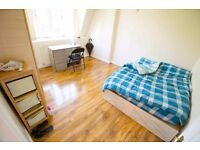 3x LUXURIOUS&VERY SPACIOUS ROOMS IN BOW E3- CLOSE TO STATION.ZONE2.ALL BILLS INCLUDED!