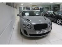 BENTLEY CONTINENTAL 6.0 GT Supersports 2dr Auto (black) 2010