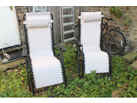 Garden chairs (adjustable and foldable)