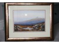 Dartmoor Watercolour (Haytor) by William Henry Dyer