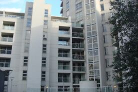 Elegant 2 double bedroom 2 bathroom apartment in a purpose built block with views of Canary Wharf.