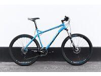 Mountain bike JAMIS KOMODO PRO 2015 hydraulic brakes FORK FOX AIR 120MM (FRESH CONDITION)