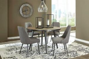 'Coverty' NEW Dining Table Set.  Round Table & 4 chairs.  Just $885