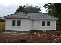 Alness. Newly built detached 2 bed bungalow
