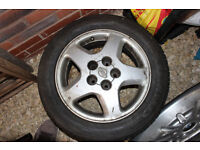 """Genuine Nissan 200sx 16"""" Alloy wheels (Also fits skyline, supra, Lexus and more)"""