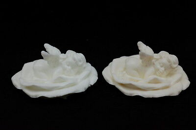 Flower Baby #2, Silicone Mold Chocolate Polymer Clay Jewelry Soap Melting Wax