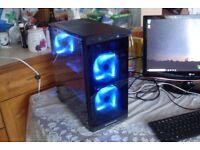 Gaming PC AMD AM4 8GB RAM 120GB SSD Athlon x4 950 3.5GHz Quad Core R7 240 Win 10