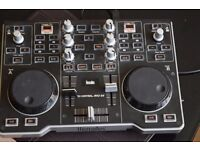 HERCULESS 2 CHANNEL USB POWER DJ MIXER MP3 E2 WITH USB CABLE