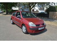 Automatic Renault Clio 1.4 16v Expression 3dr