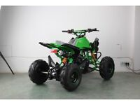 BRAND NEW 2018 110CC CHILDRENS / KIDS OFF ROAD TOXIC QUAD BIKE WITH REVERSE LEGAL