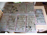 KEYS - 100s of Blank Uncut Keys + 9 Key boards to hold them