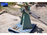 Morso guillotine mitre machine, Picture framing quality. Foot operated.