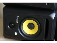 Krk rokit 5 monitors pair good as new