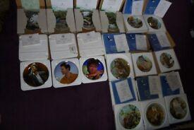 Coalport Owl plates, Royal Worcester Birds, Cliff Richard collectors plates