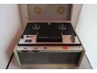Sony Tapecorder TC-357-4 Reel to Reel with original stuff