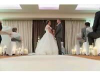 Wedding dress size 16 14