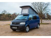 Volkswagen Transporter T5 2.5l 6 speed 4 Berth Pop Top Camper Van - MUST SELL