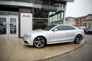 2013 Audi S5 3.0T 6sp manual Quattro Coupe