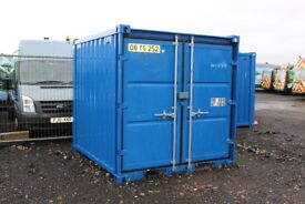 8 x 8 x 8 Used Steel Storage Container