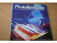Complete PhotoReading Course by Paul Scheele, sealed and unused.