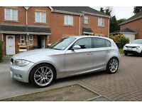 BMW 1 Series 1.6 116i M Sport 5dr Silver. Mot till december 2017!! New rear drive shafts.