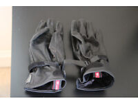NEW Hein Gericke leather lady motorcycle gloves Venice II black (size M)