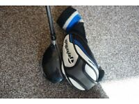 TaylorMade SLDR 21 degree Rescue Club with head cover