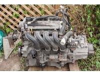 Toyota Yaris 1.3 VVTi 2NZFE engine & 5spd gearbox. 1999 - 2003