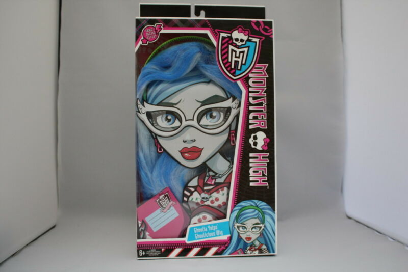 MONSTER HIGH GHOULIA YELPS HALLOWEEN WIG DRESS UP COSTUME ACCESSORIE NIB