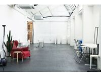 900sqft Photo Studio for hire London Fields for photography and filming