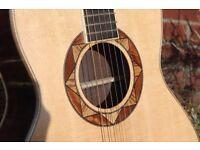 Forsyth 000 handbuilt acoustic guitar ( trade for a Les Paul