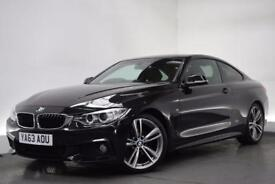 BMW 4 SERIES 2.0 420D M SPORT [PRO NAV/19 (black) 2014
