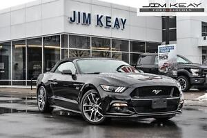 2016 Ford Mustang GT CONVERTIBLE PREMIUM W/AUTO, NAVIGATION & LE