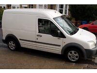 Ford transit connect, LWB High Top, Long MOT, Camper