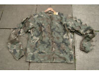 New - Ghillie 3D Leaf / Woodland Camo Over Jacket