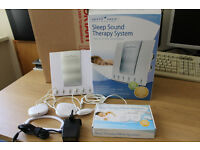 Sound Oasis S-550-05 Sound Therapy System with UK Adapter.