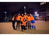 Spaces for new teams and individuals in London Bridge Women's 5-a-side league!
